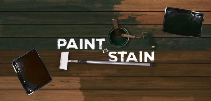 Paint Or Stain Deck  Ultimate Paint vs Stain Showdown Deck Style