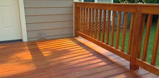Paint Or Stain Deck  Whether to Paint or Stain a Wood Deck