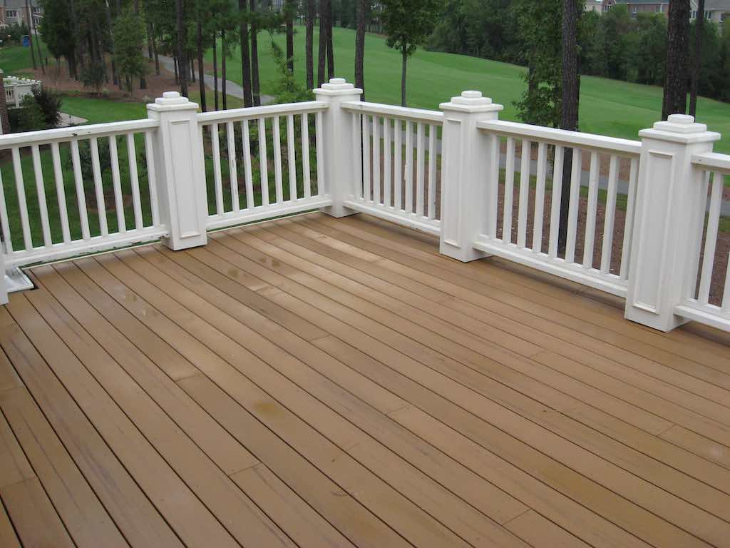 Paint Or Stain Deck  Can you stain posite decking Trex Decking