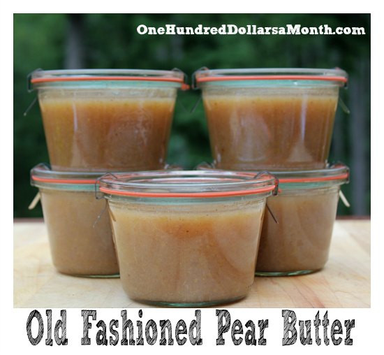 Pear Recipes For Canning  Pear Butter Recipe Canning 101