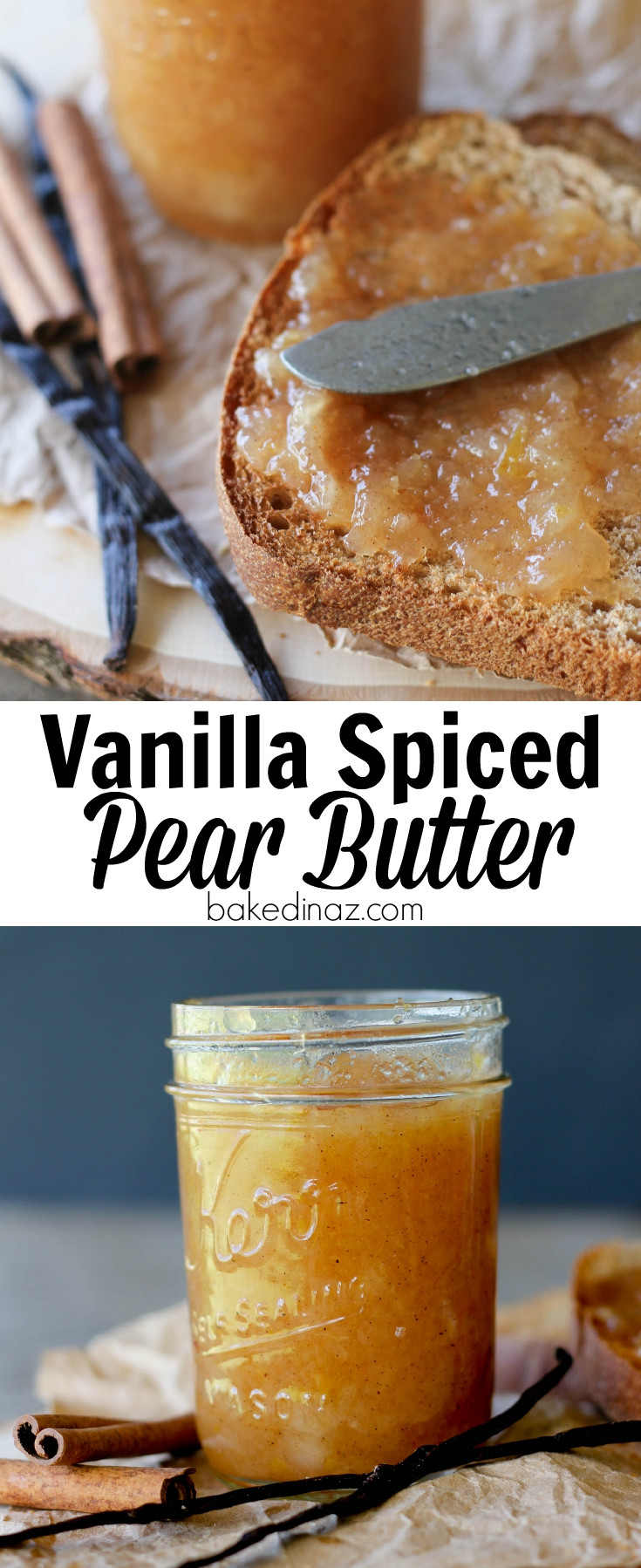 Pear Recipes For Canning  Vanilla Spiced Pear Butter
