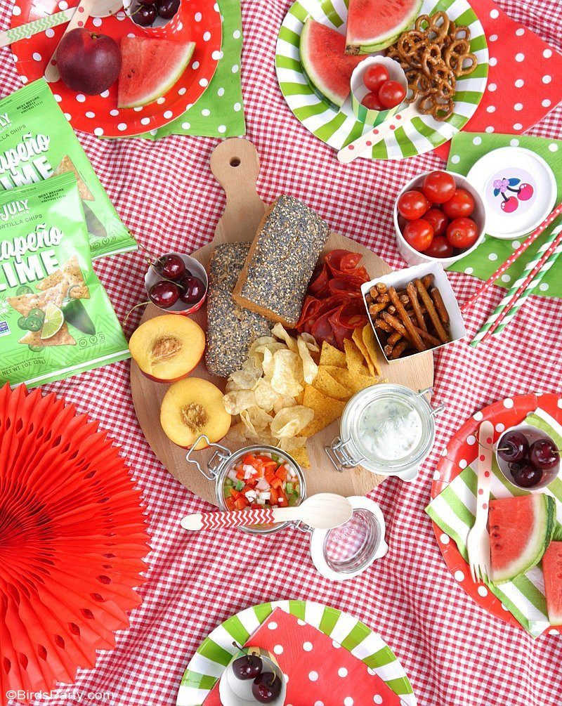 Picnic Birthday Party Ideas  Tasty Ideas for the Perfect Summer Picnic Party Party