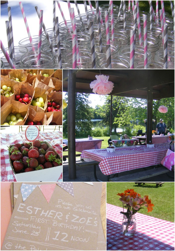 Picnic Birthday Party Ideas  A First Birthday Picnic Party