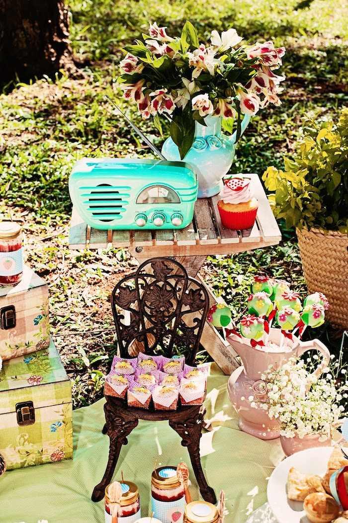 Picnic Birthday Party Ideas  Kara s Party Ideas Summer Picnic Birthday Party ideas