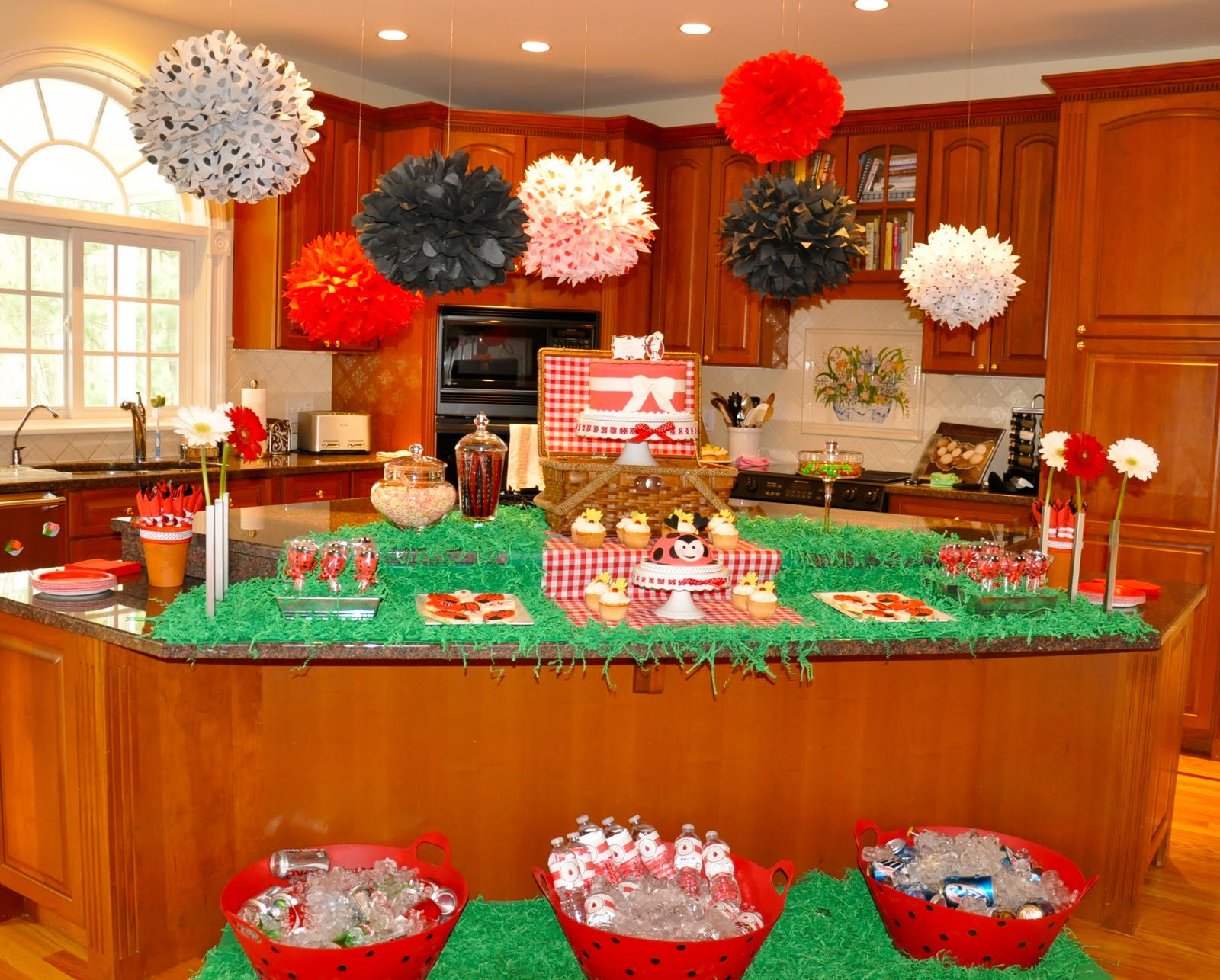 Picnic Birthday Party Ideas  Party of the Week Ladybug Picnic Birthday Bash