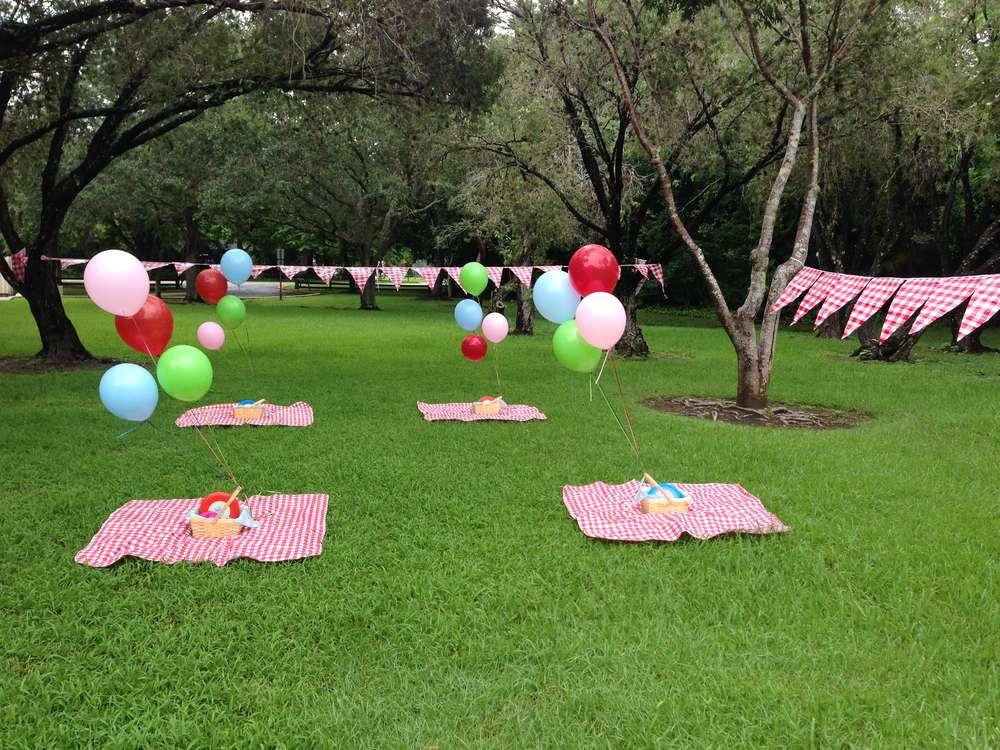 Picnic Birthday Party Ideas  Teddy Bears Picnic Birthday Party Ideas