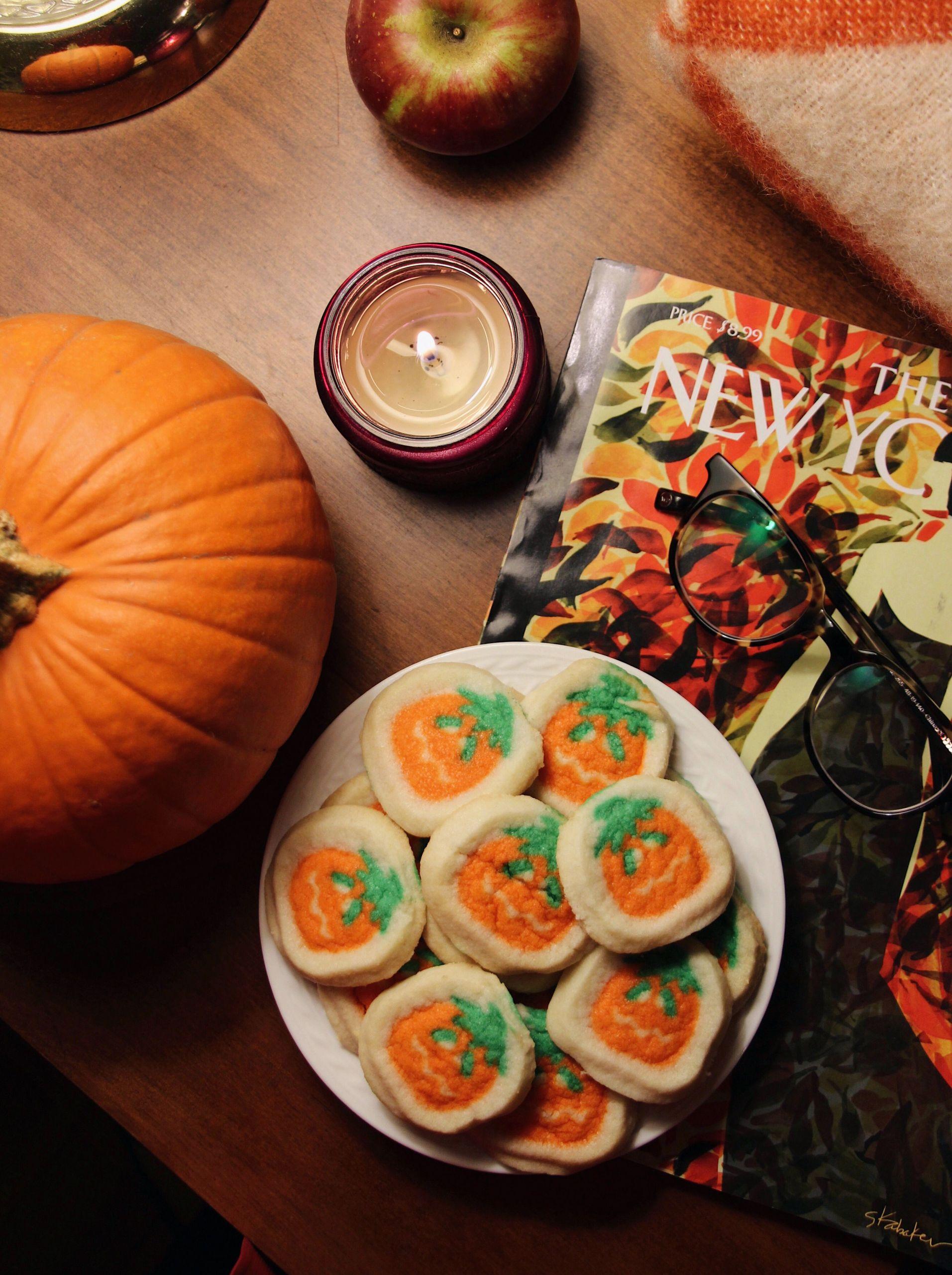 Pillsbury Halloween Sugar Cookies  fall halloween pumpkin cookies Pillsbury Shape Pumpkin