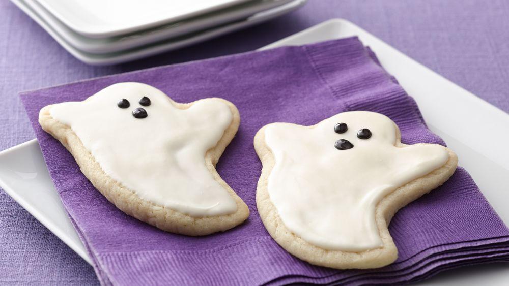 Pillsbury Halloween Sugar Cookies  Ghost Sugar Cookie Cutouts recipe from Pillsbury