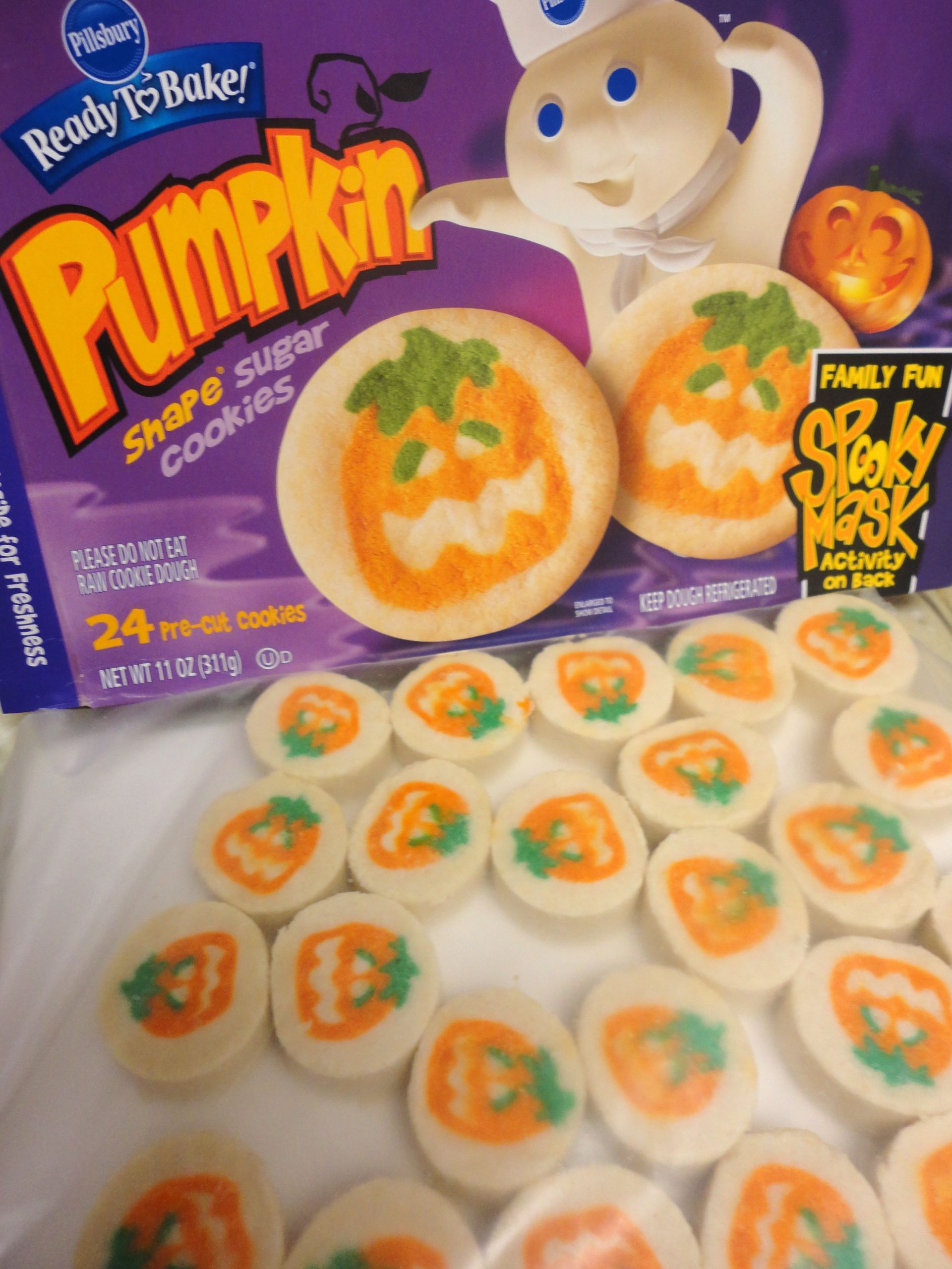 Pillsbury Halloween Sugar Cookies  Halloween Cookies