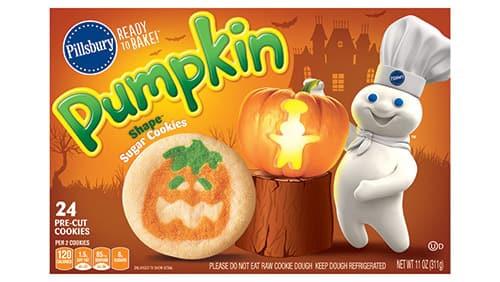 Pillsbury Halloween Sugar Cookies  Pillsbury™ Shape™ Pumpkin Sugar Cookies Pillsbury
