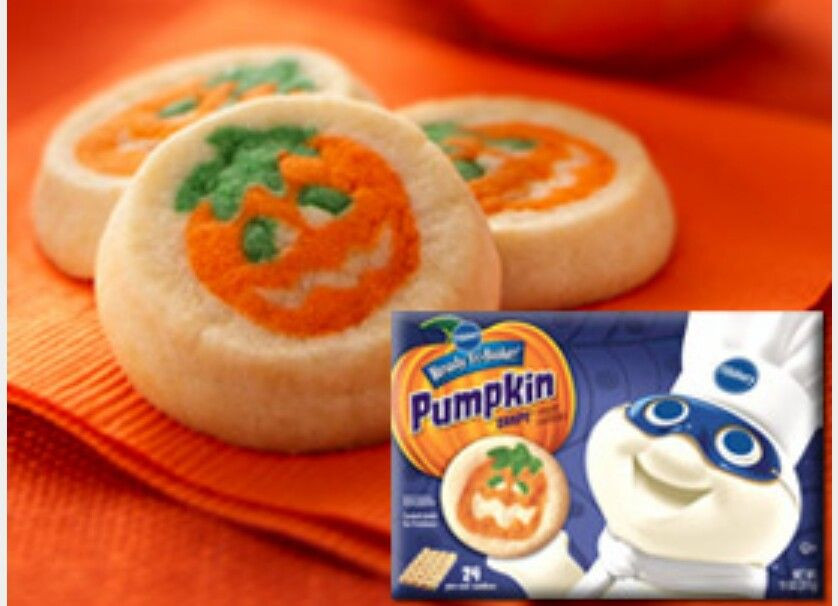 Pillsbury Halloween Sugar Cookies  Pin by Stephanie M on The 90 s