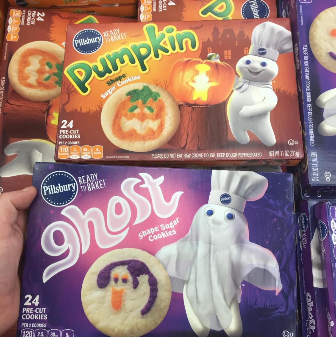Pillsbury Halloween Sugar Cookies  Found Pillsbury Halloween Cookie Doughs Snack Gator