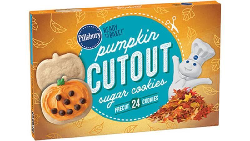 Pillsbury Halloween Sugar Cookies  Pillsbury™ Shape™ Pumpkin Cutout Sugar Cookies Pillsbury