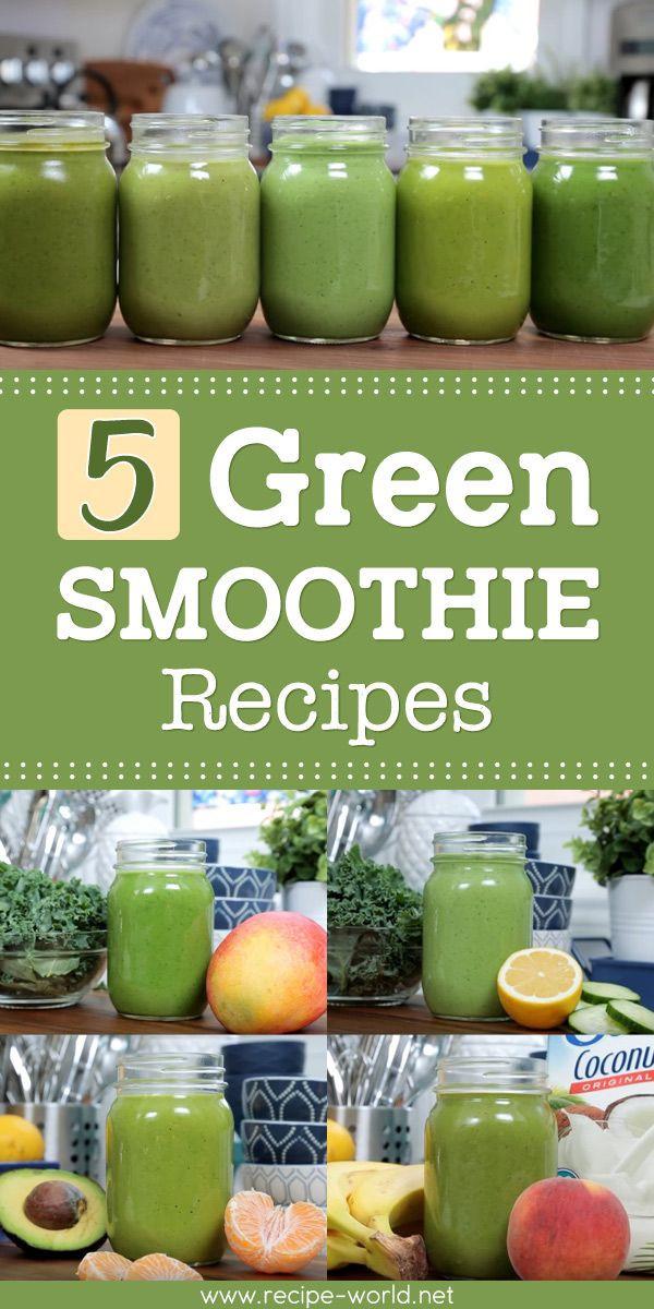 Planet Smoothie Recipes  5 Green Smoothie Recipes