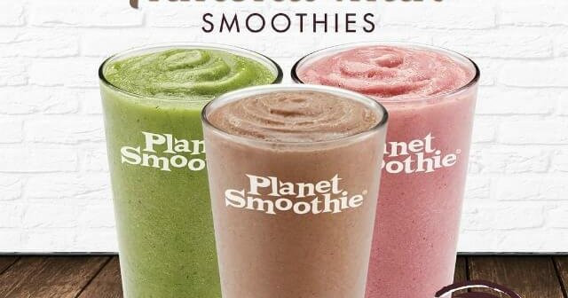 Planet Smoothie Recipes  Planet Smoothie s Out of This World Vegan Options