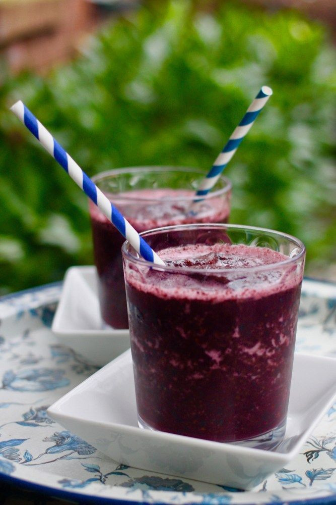 Planet Smoothie Recipes  Blueberry Smoothies
