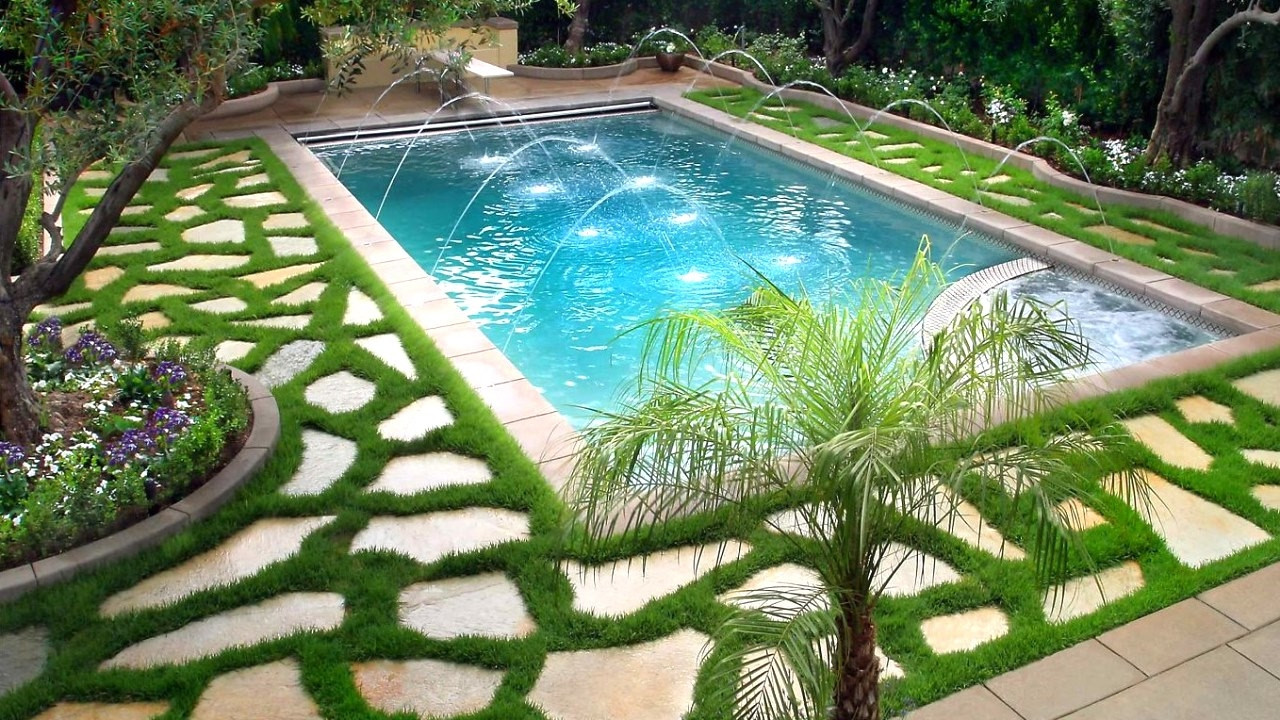 Pool Landscape Design  30 Swimming Pools Best Landscaping Ideas