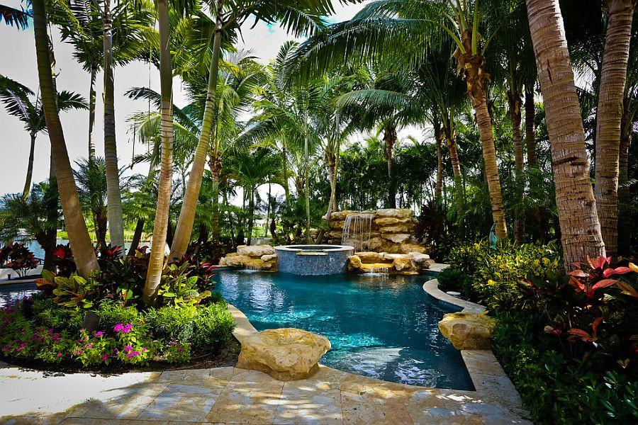 Pool Landscape Design  25 Spectacular Tropical Pool Landscaping Ideas