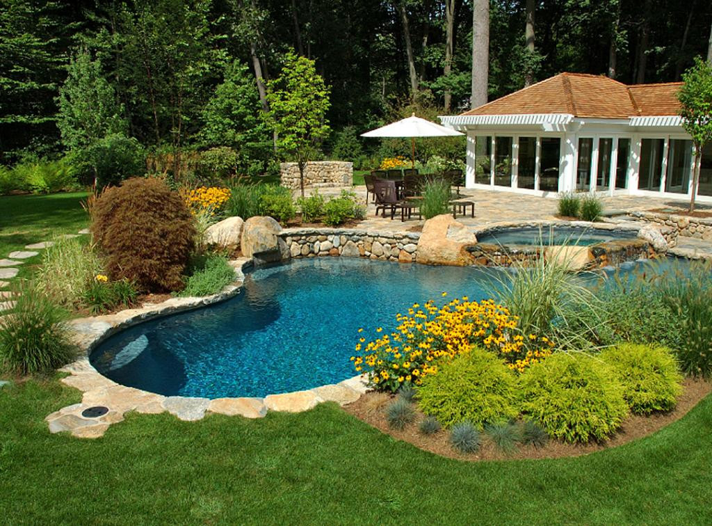 Pool Landscape Design  27 Pool Landscaping Ideas Create the Perfect Backyard