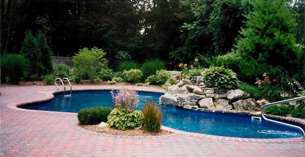Pool Landscape Design  15 Pool Landscape Design Ideas