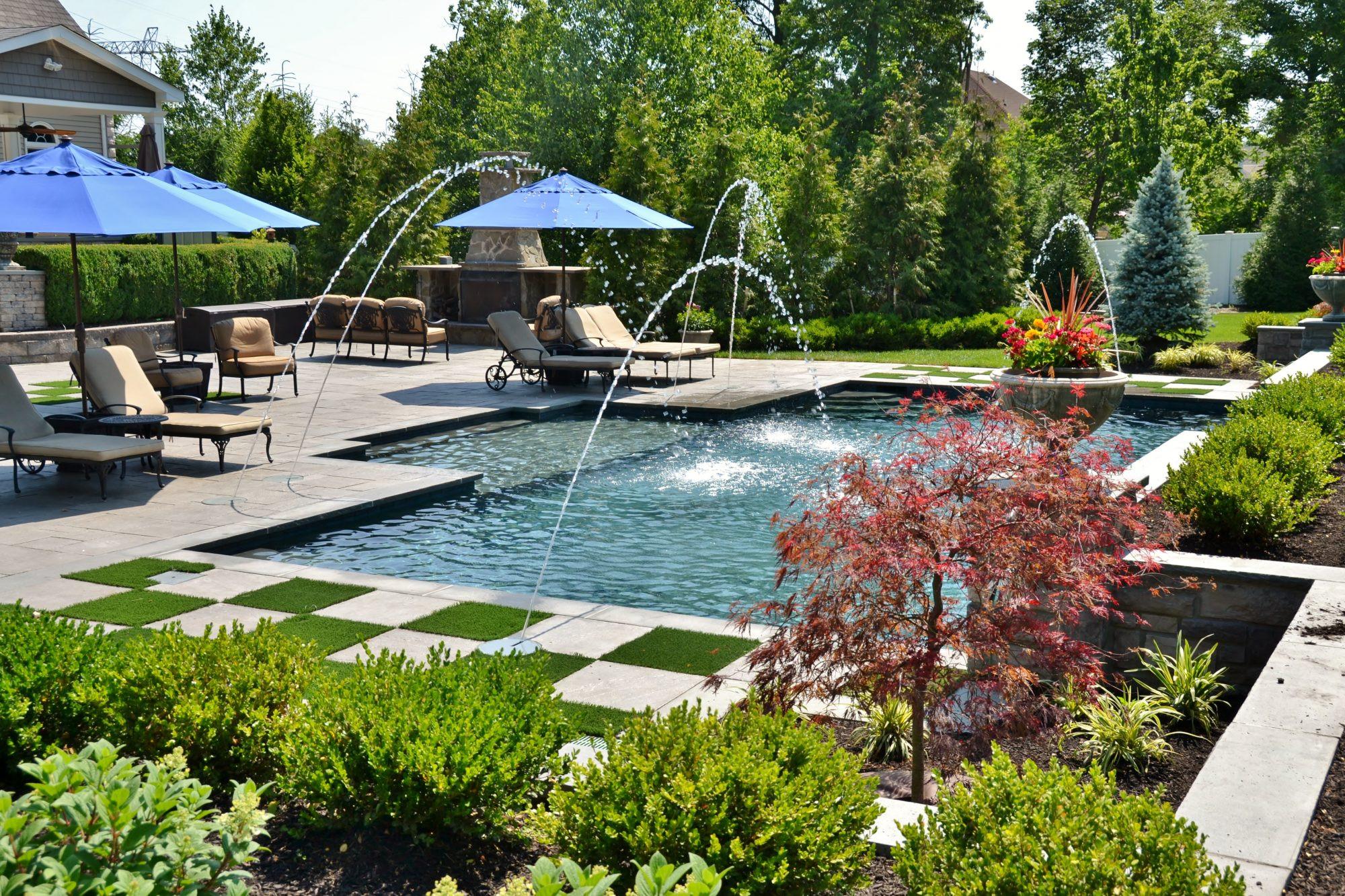 Pool Landscape Design  Pool Landscape Design