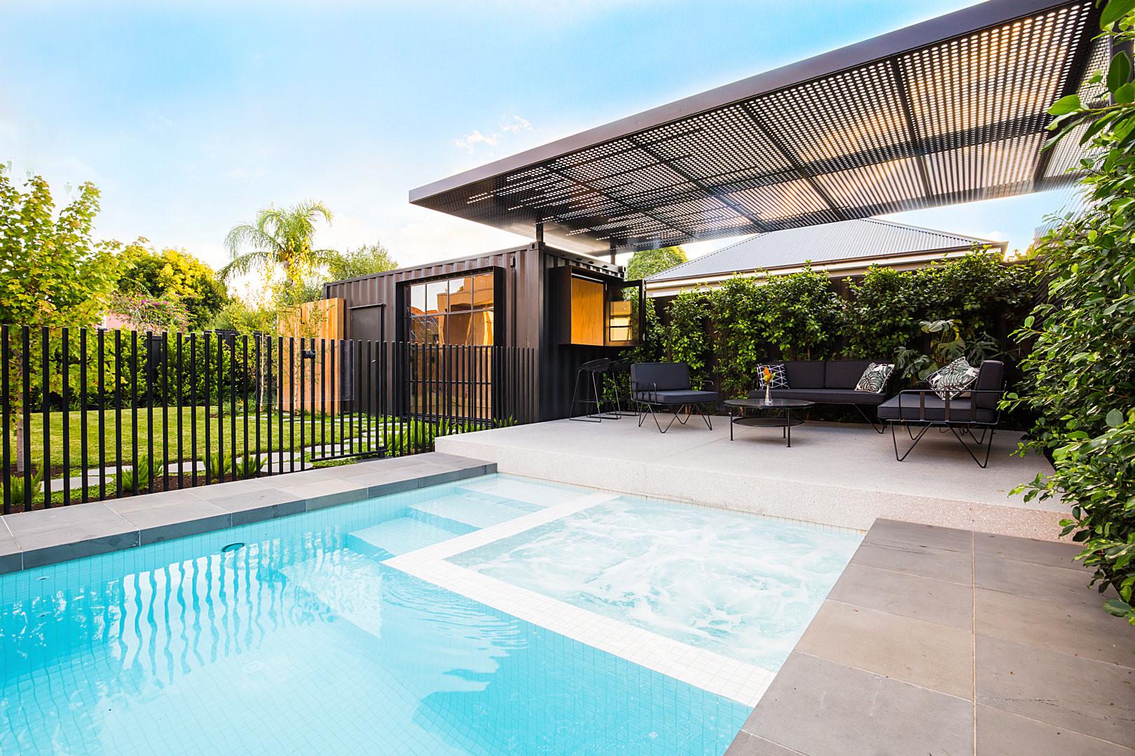 Pool Landscape Design  Northcote