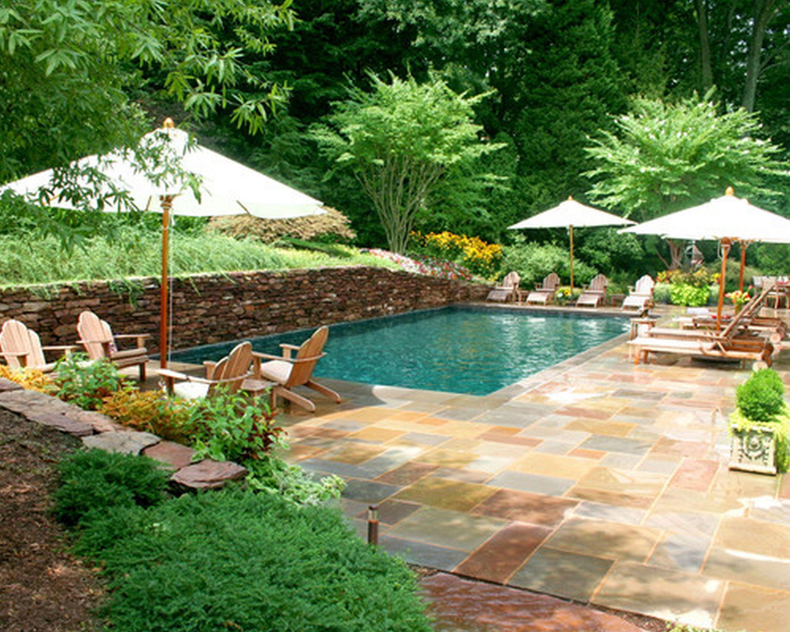 Pool Landscape Design  Designing Your Backyard Swimming Pool Part I of II