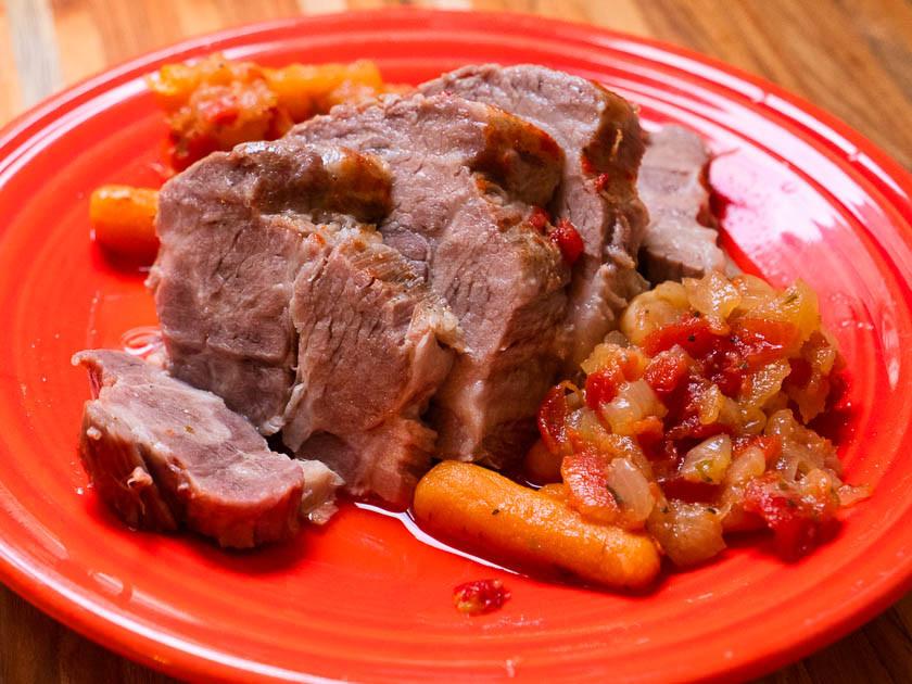 Pork Shoulder In Pressure Cooker  Pressure Cooker Pork Pot Roast DadCooksDinner