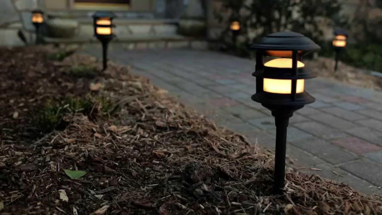 Portfolio Landscape Path Light  Portfolio Low Voltage Landscape Audio Path Lighting