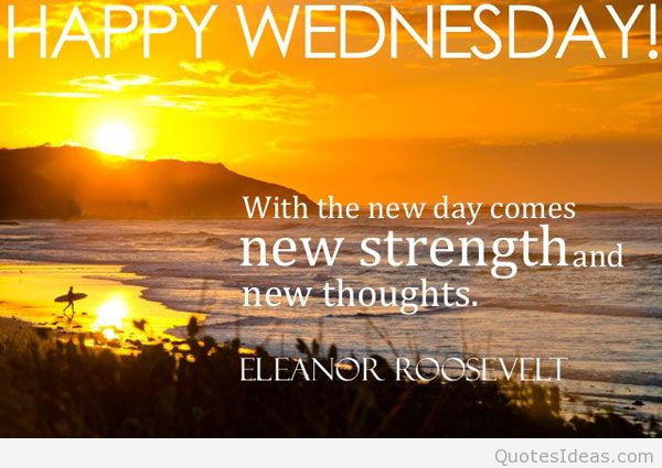 Positive Wednesday Quotes  Wacky Wednesday Quotes QuotesGram