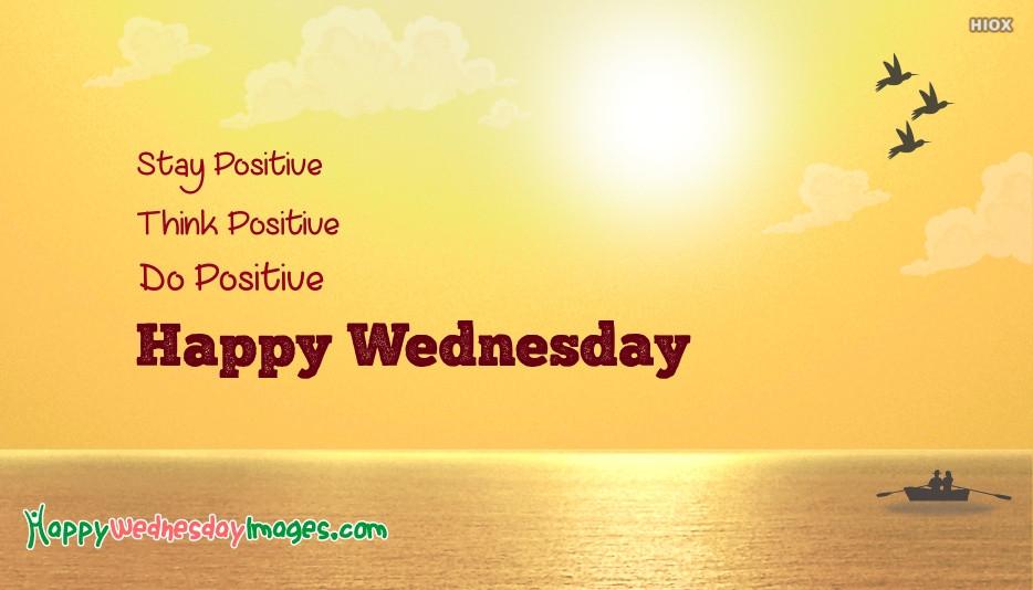 Positive Wednesday Quotes  Happy Hopeful Wednesday