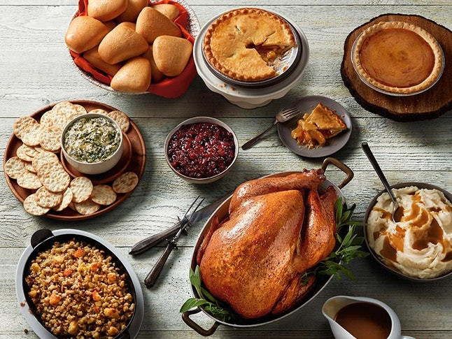Pre Cooked Thanksgiving Dinner Walmart 2020  Walmart Is Selling Thanksgiving Kits For Under $50 That