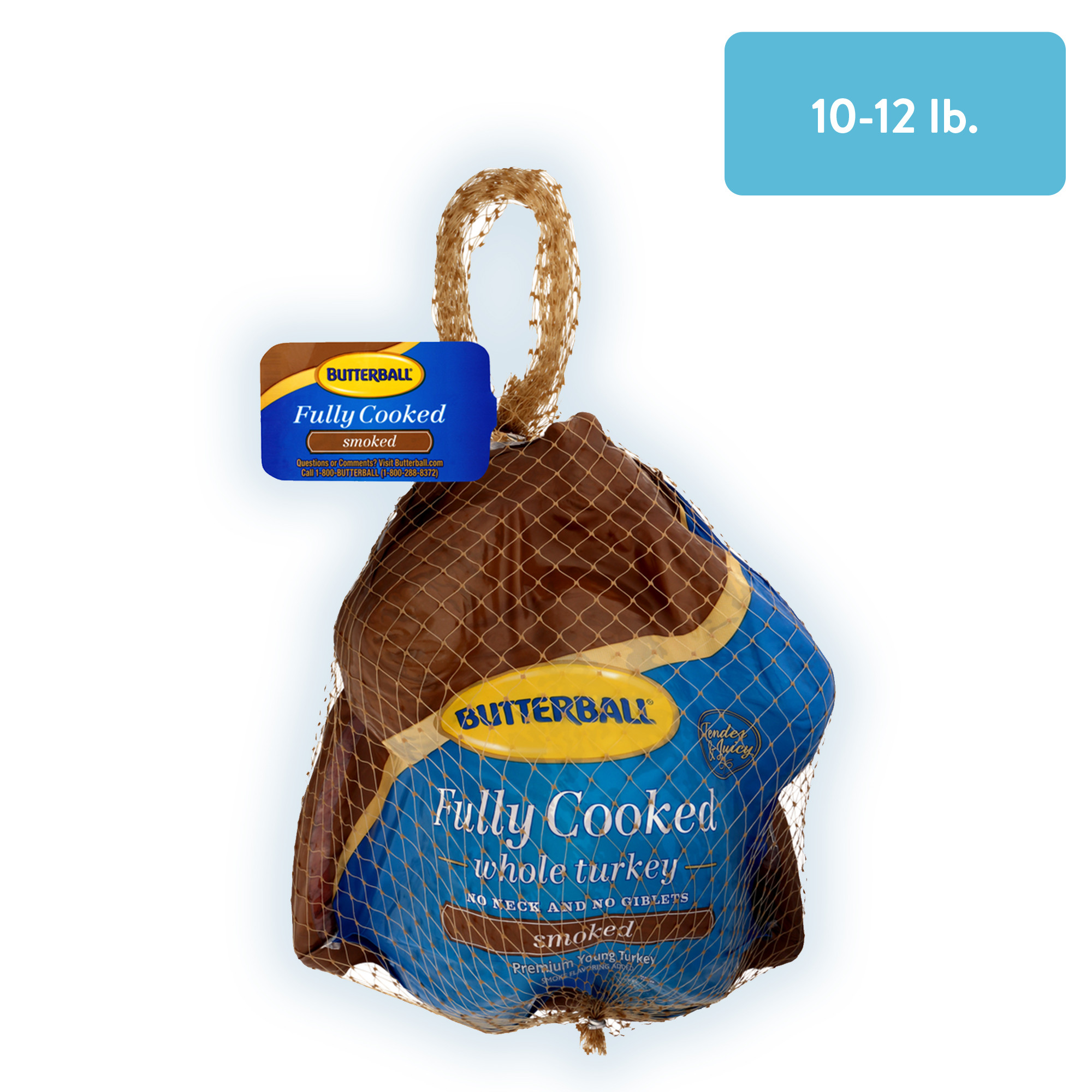 Pre Cooked Thanksgiving Dinner Walmart 2020  Butterball Smoked Fully Cooked Turkey Gluten free 10 12
