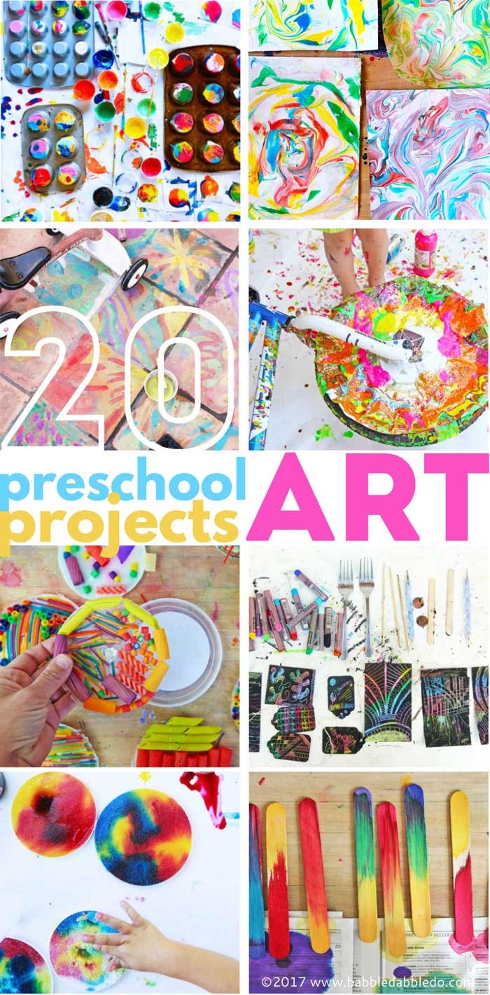 Preschool Art Project Ideas  20 Preschool Art Projects Babble Dabble Do
