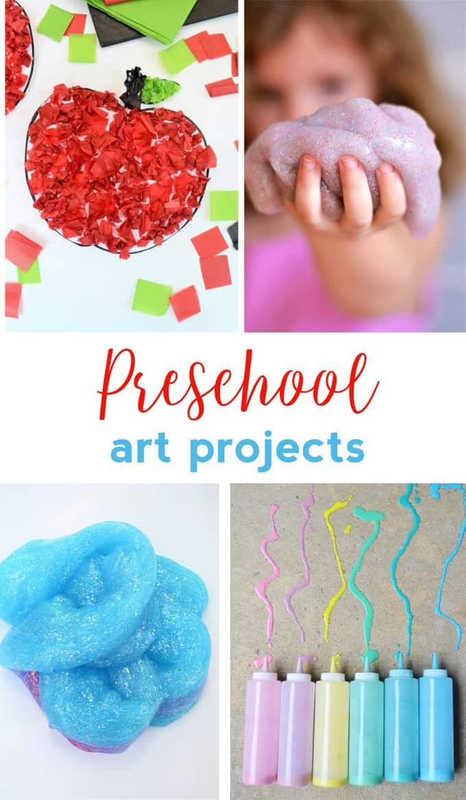 Preschool Art Project Ideas  PRESCHOOL ART PROJECTS EASY CRAFT IDEAS FOR KIDS