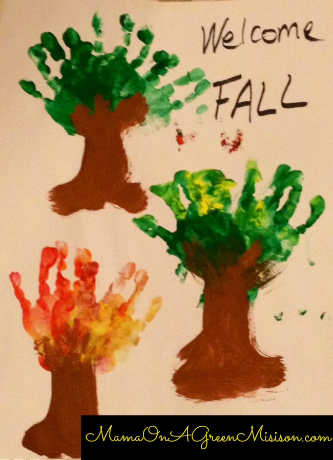 Preschool Art Project Ideas  PreSchool Fall Art Projects for Your Toddler Mama a