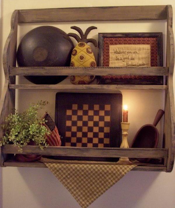 Primitive Kitchen Wall Decor  20 Best Primitive Decorating Ideas