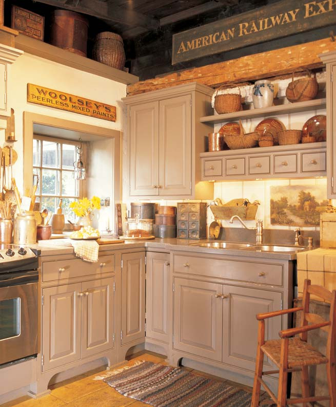 Primitive Kitchen Wall Decor  3 Ideas for Decorating with Primitives and Folk Art Old