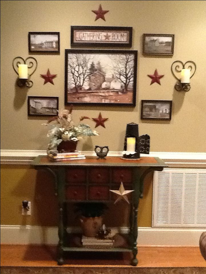 Primitive Kitchen Wall Decor  1560 best images about Prim ♡Country ♡Americana on