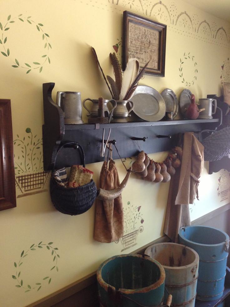 Primitive Kitchen Wall Decor  17 Best images about Primitive Americana living room