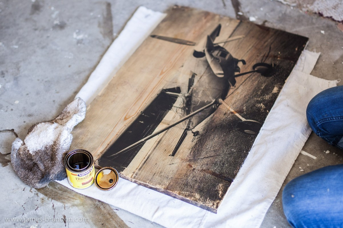 Printing On Wood DIY  How To Transfer Prints To Wood An Awesome graphy DIY