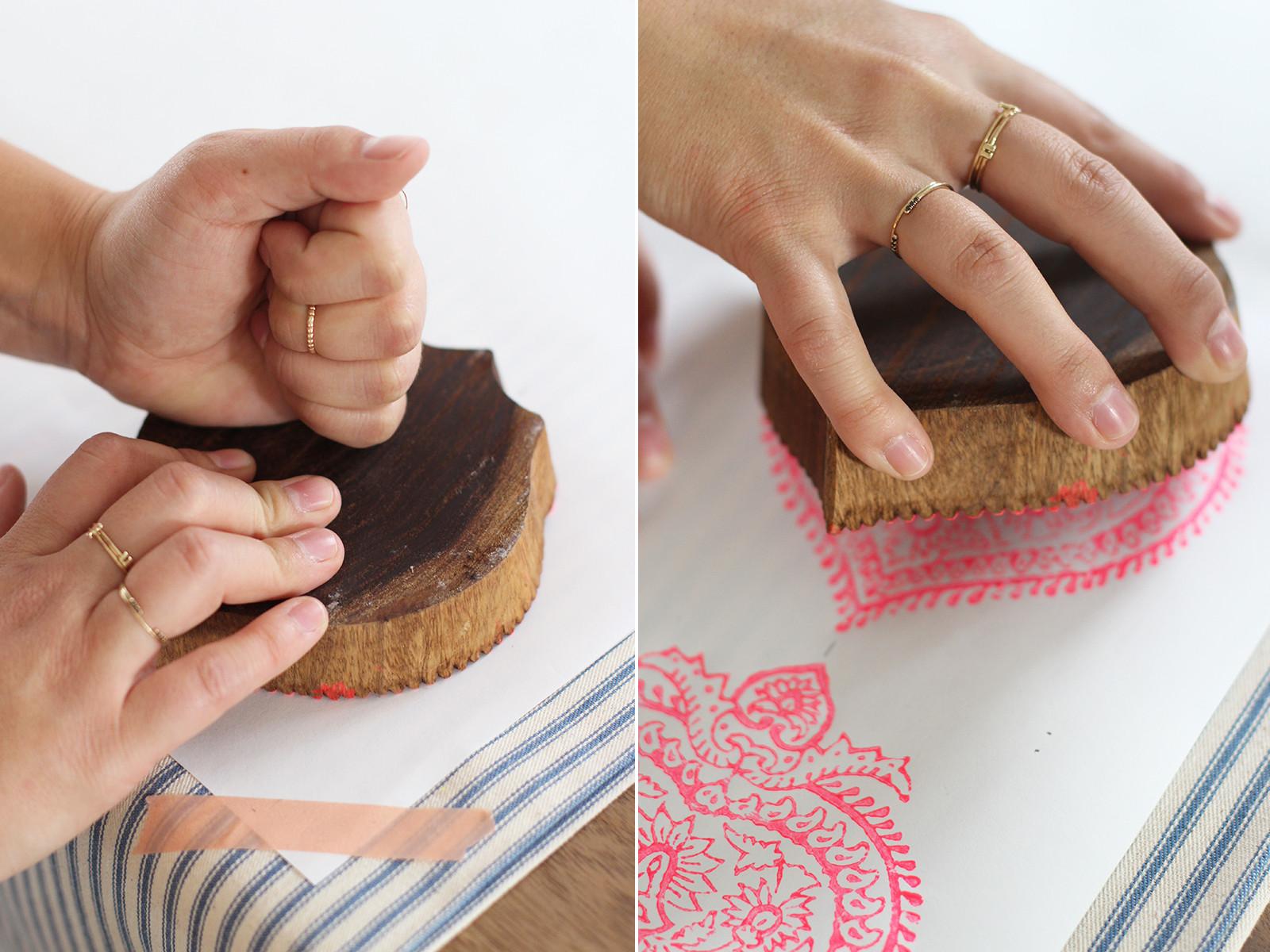 Prints On Wood DIY  DIY Woodblock Printing – Honestly WTF