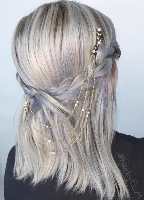 Prom Hairstyles Straight Hair  35 Fetching Hairstyles for Straight Hair