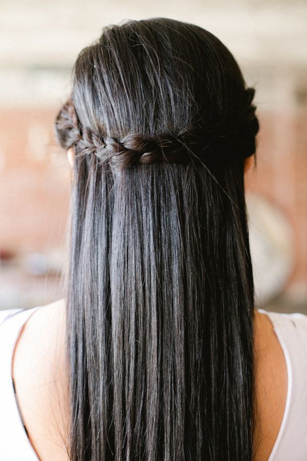 Prom Hairstyles Straight Hair  17 Best images about Prom Hair & Makeup on Pinterest