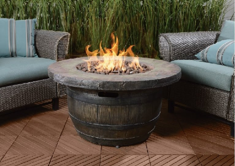 Propane Fire Pit Table  Top Ten Best Gas Fire Pit Tables