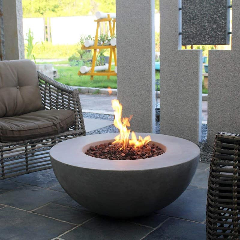 Propane Fire Pit Table  10 Concrete Fire Pit Tables That You Can Buy Right Now