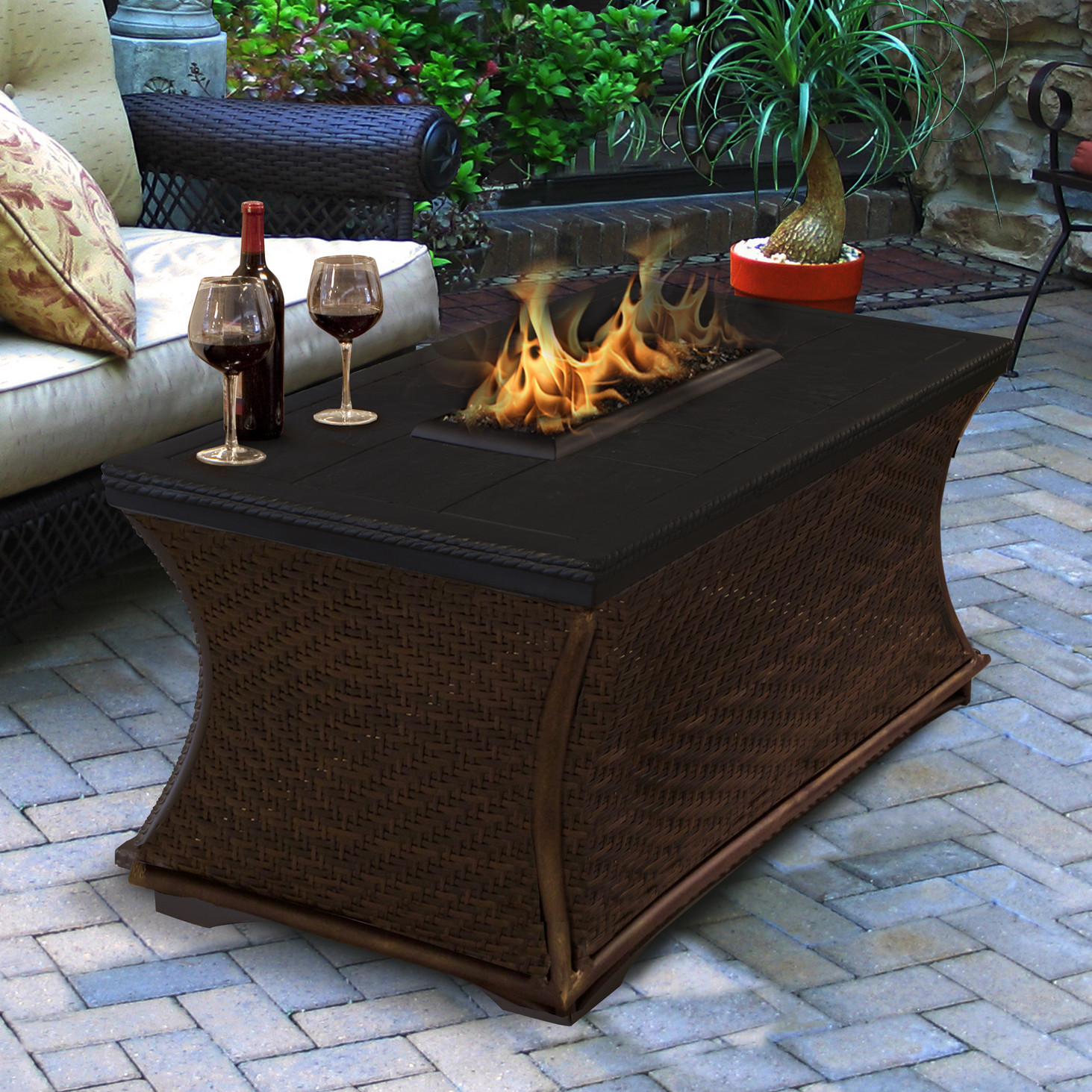 Propane Fire Pit Table  9 Fire Pit Tables For The Outdoor Area Cute Furniture