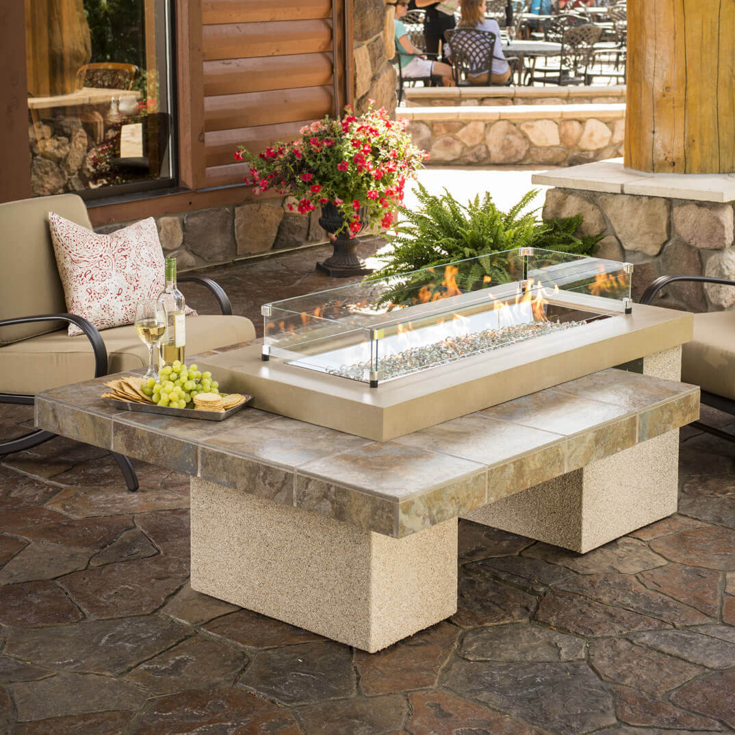 Propane Fire Pit Table  Top 15 Types of Propane Patio Fire Pits with Table Buying