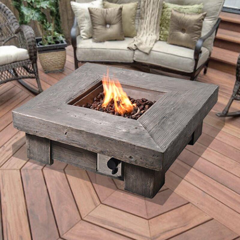 Propane Fire Pit Table  Wayfair