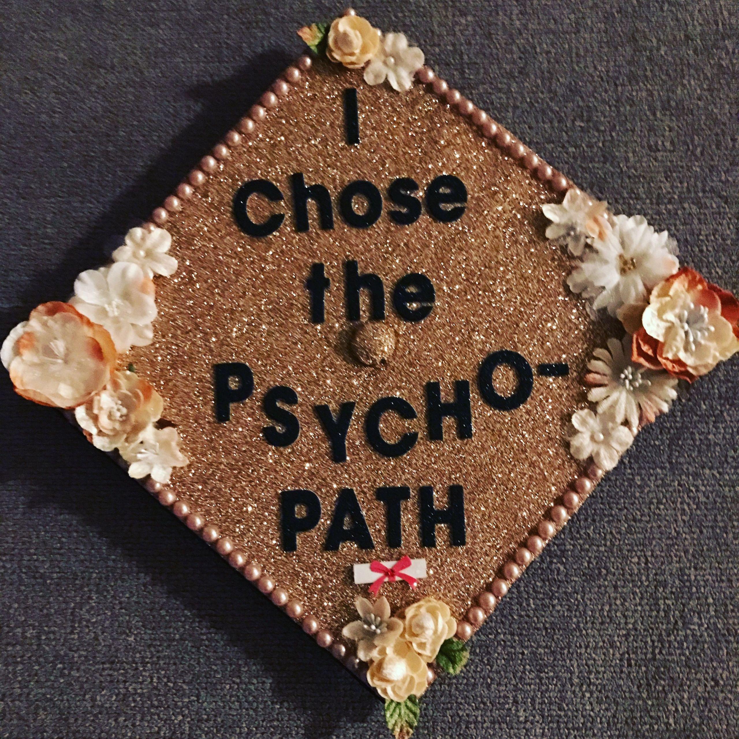 Psychology Graduation Gift Ideas  My Graduation cap Psychology
